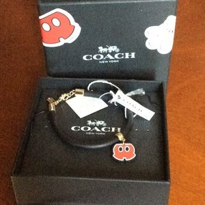 Coach Mickey Mouse bracelet